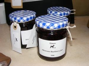 Allotment Blackberry Jam
