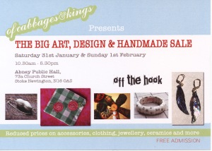 The Big Art, Design & Handmade Sale