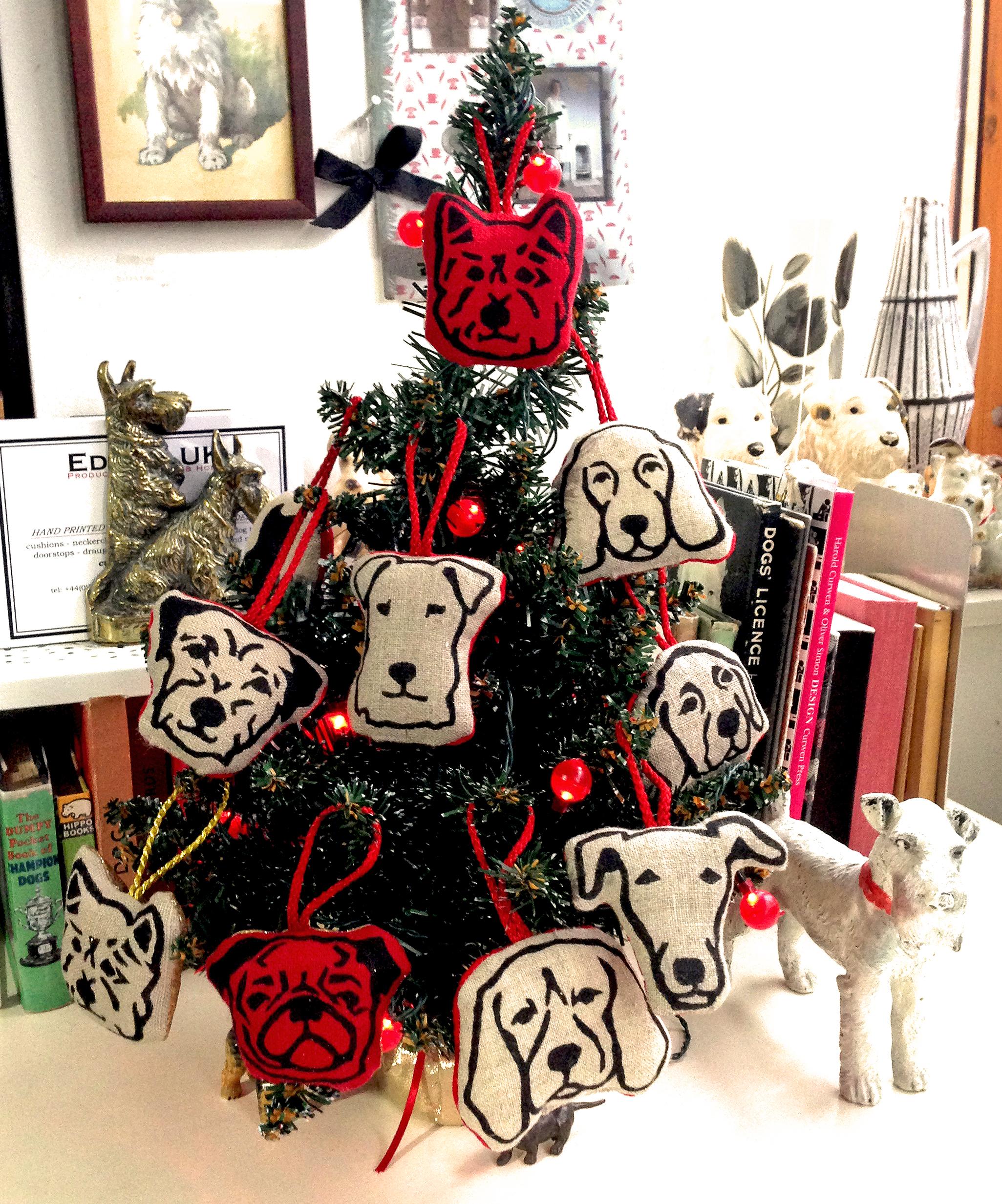 Doggie Christmas Tree Decorations |